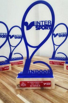 Χορηγία στο Intersport 1st Indoor Open