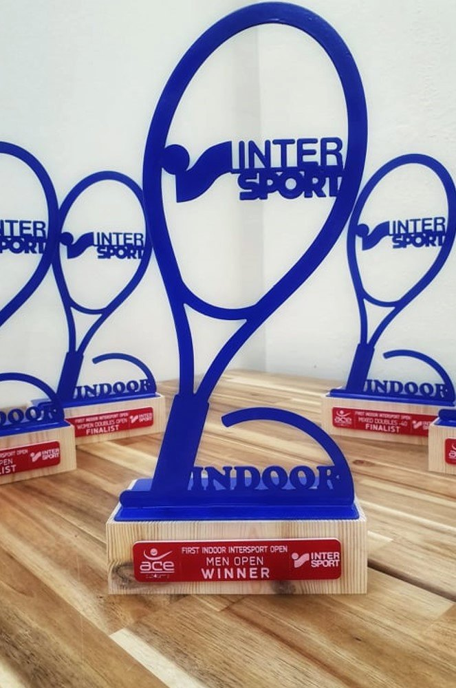 Χορηγία στο Intersport 1st Indoor Open
